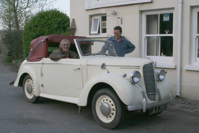 1947 Hilman Minx Mark I drophead coupé_1947