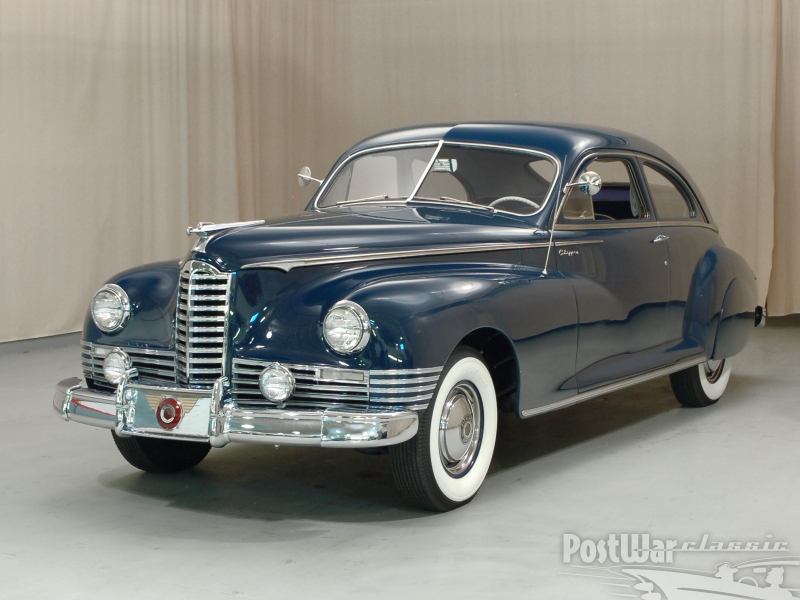 1947 Packard Clipper 2 door