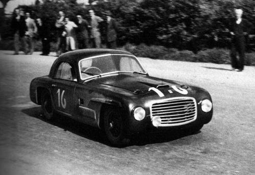 1948 Allemano Ferrari 166S Berlinetta #003S  a