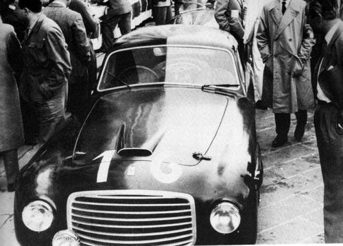 1948 Allemano Ferrari 166S Berlinetta #003S  c