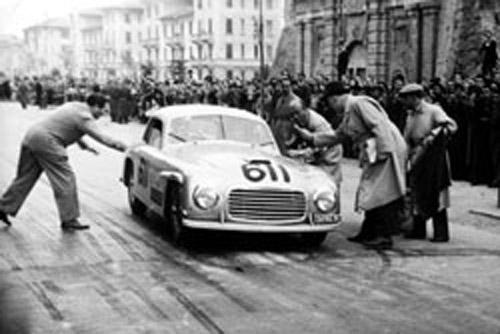 1948 Allemano Ferrari 166S Berlinetta #003S  e