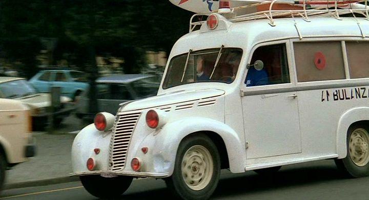 1948 Fiat 1100 BLR Ambulanza