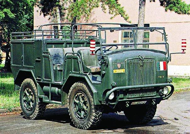 1948 FIAT ТМ48, 4x4