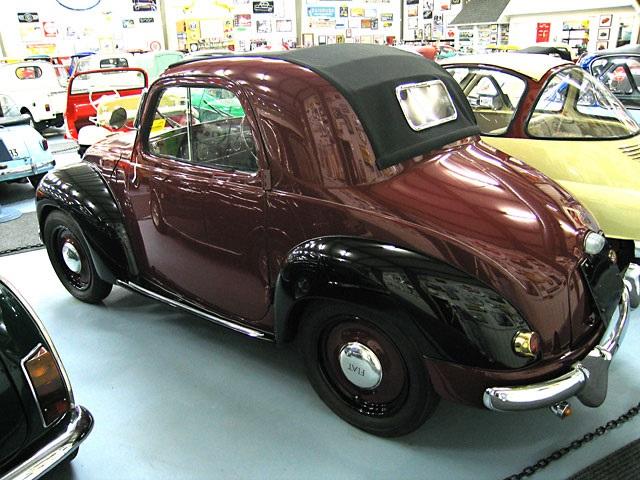 1948 FIAT Topolino 500 achterzijde