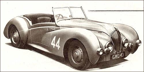 1948 healey westland Roadster