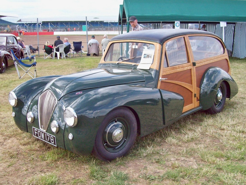 1948 Healey Woody Engine 2443cc S4