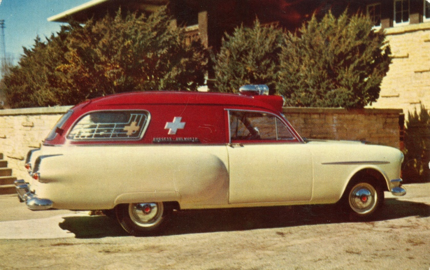 1948 Henney-Packard Junior Ambulance