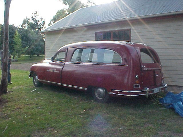 1948 Packard Hearse