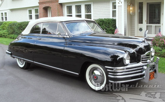 1948 Packard Super Eight Victoria Convertible Coupe
