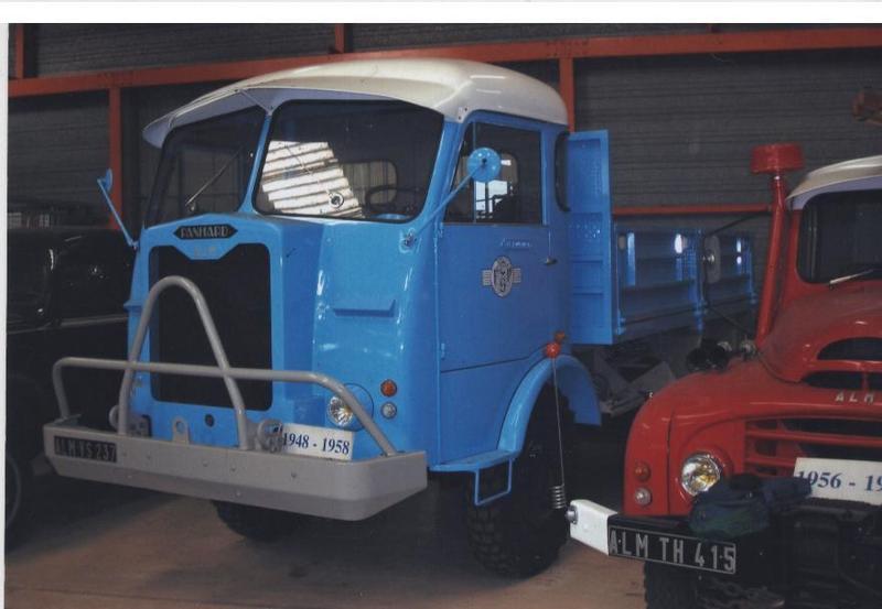 1948 Panhard ALM VS 237 vu chez ACMAT à St Nazaire