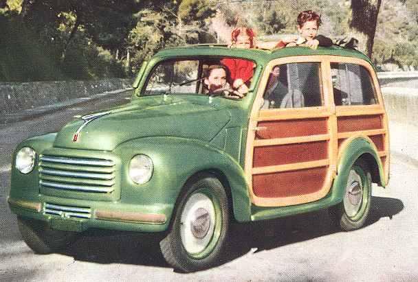 1949-50 Fiat 500 C Giardiniera