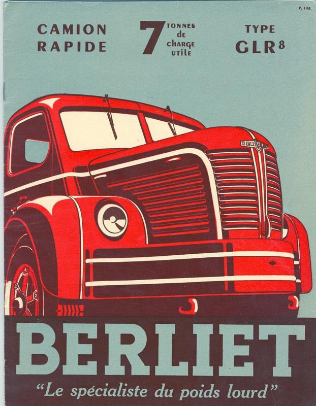 1949 BERLIET~1 Camion Rapide 7 tonnes