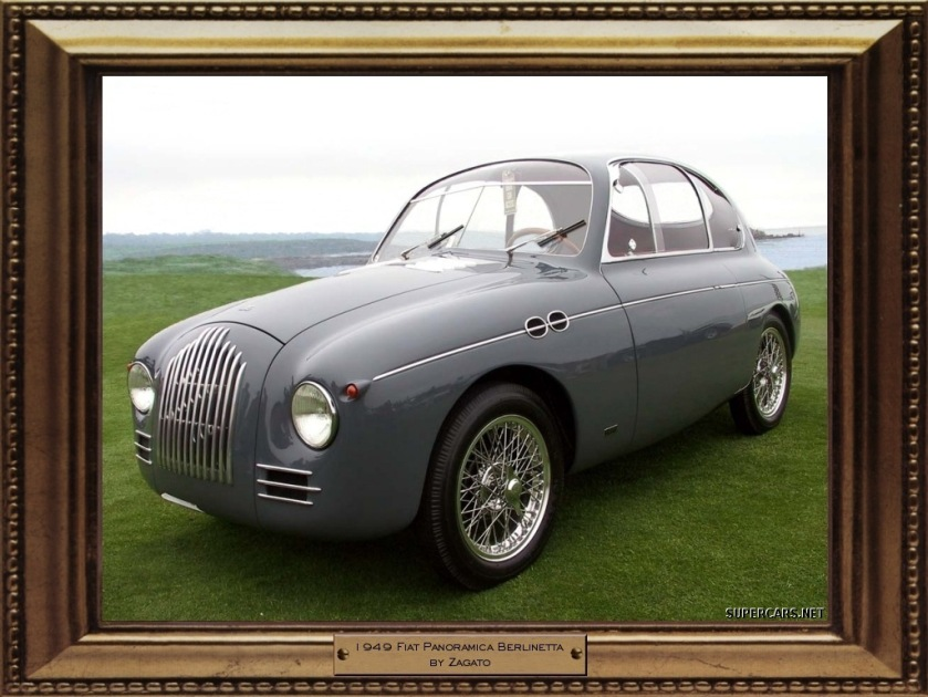 1949 Fiat Panoramica Berlinetta by Zagato