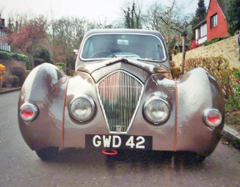 1949 Healey elliott front