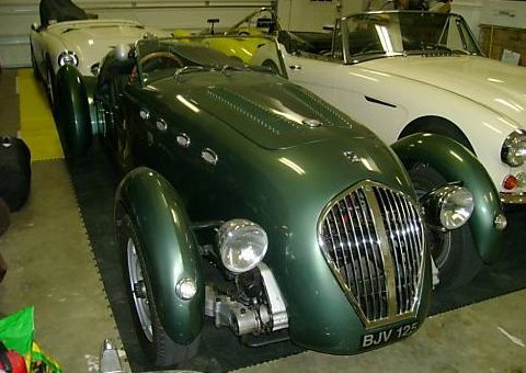 1949 Healey Silverstone Works Roadster