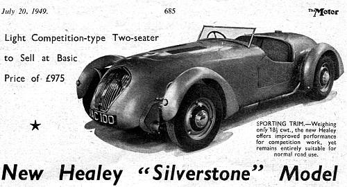 Donald HEALEY Motor Company 1945 The Cape Warwick UK — AUSTIN – HEALEY  England UK since '52 – Myn Transport Blog
