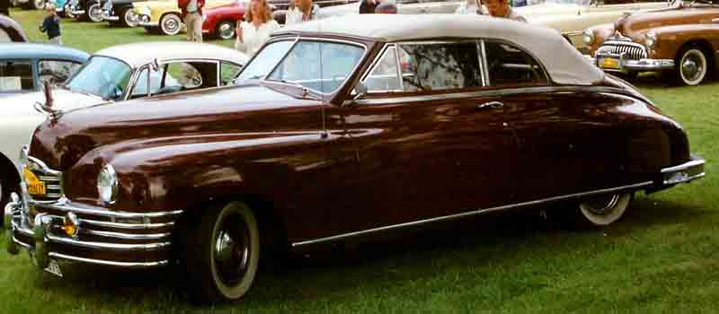 1949 Packard Convertible Coupé