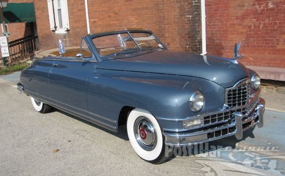 1949 Packard Custom Eight Convertible Coupe