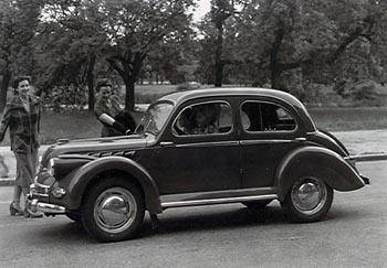 1949 Panhard dyna bw