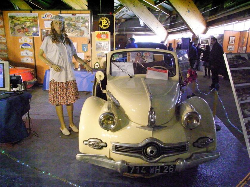 1949 Panhard X86 décapotable-1