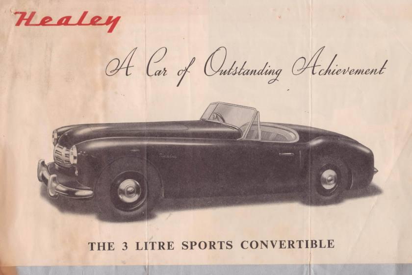 1950 Alvis Healey