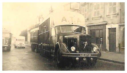 1950 BERLIET GDM 10 W des Transports A.T.A
