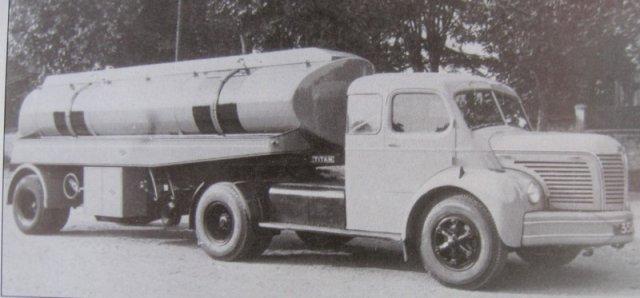 1950 BERLIET TLR 8 W, 5 cyl, 120 cv pinardier de 1ere génération