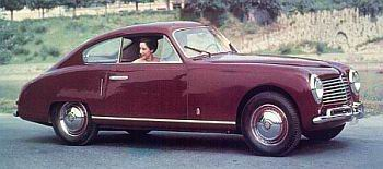 1950 Fiat 1100es coupe Pininfarina