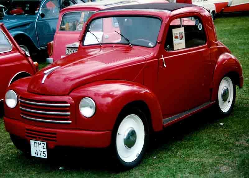 1950 FIAT 500C Coupé