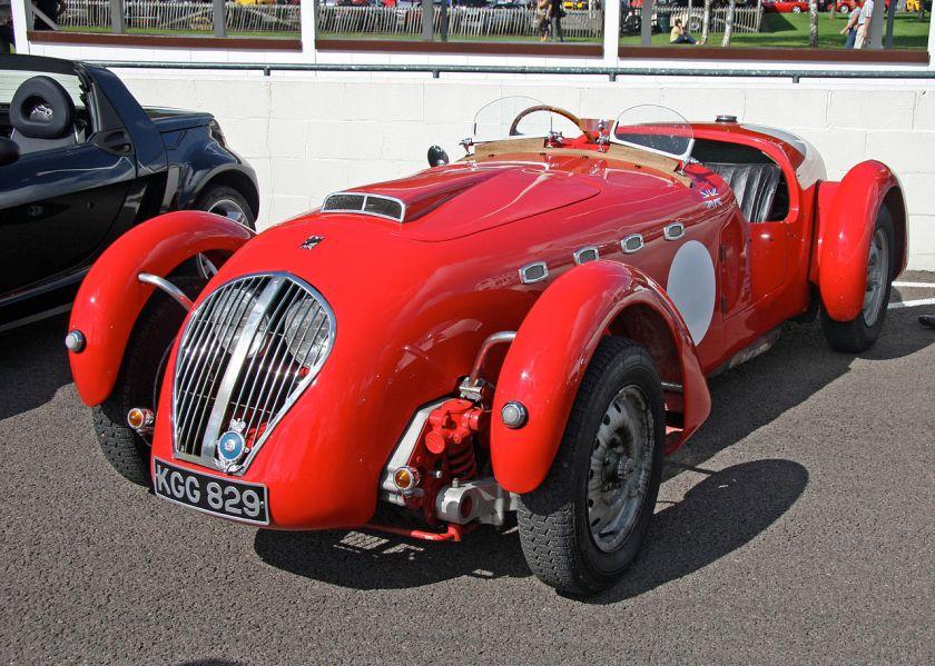 1950 Healey Silverstone a