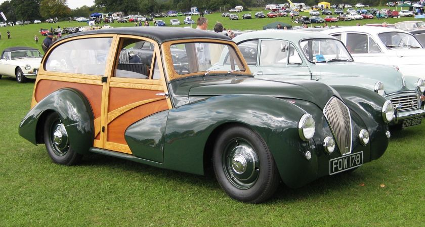 1950 Healey Westland woody sports wagon