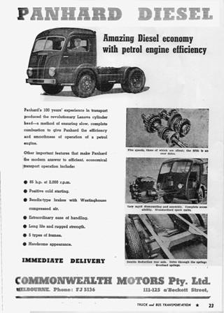 1950 Panhard diesel 10