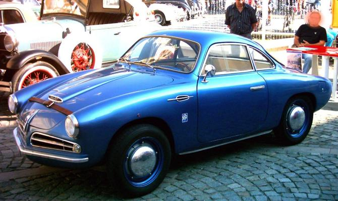 1951 Allemano Crepaldi Panhard Dyna X86 Coupe a