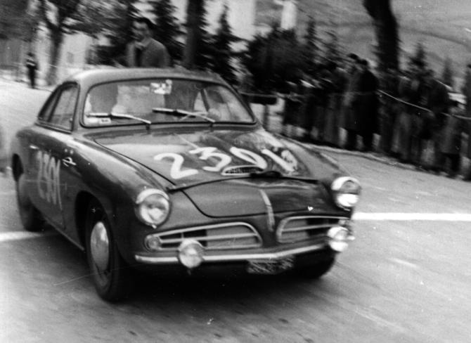 1951 Allemano Crepaldi Panhard Dyna X86 Coupe e