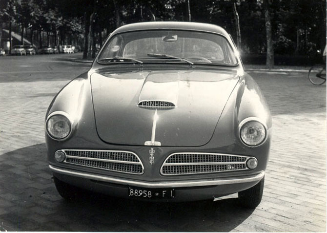 1951 Allemano Crepaldi Panhard Dyna X86 Coupe i