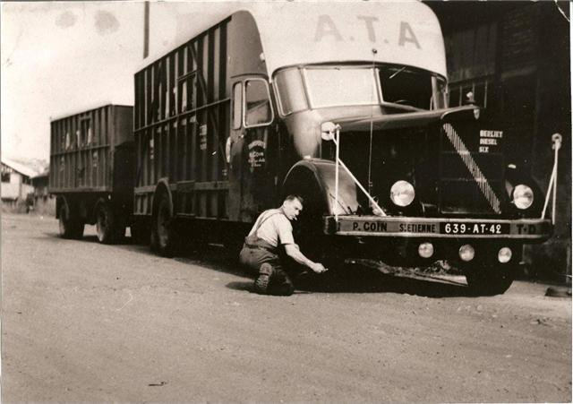 1951 BERLIET GDM 10 cabine intégrée 6 cyl 135 cv