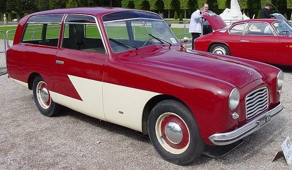 1951 Fiat 1100E Zagato Panoramica Giardiniera