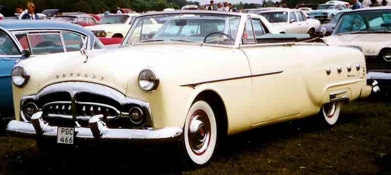 1951 Packard 250 Convertible Modell 2401-2469