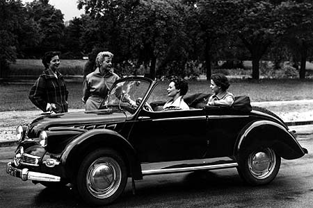 1951 Panhard Dyna X86 Cabriolet (750cc)