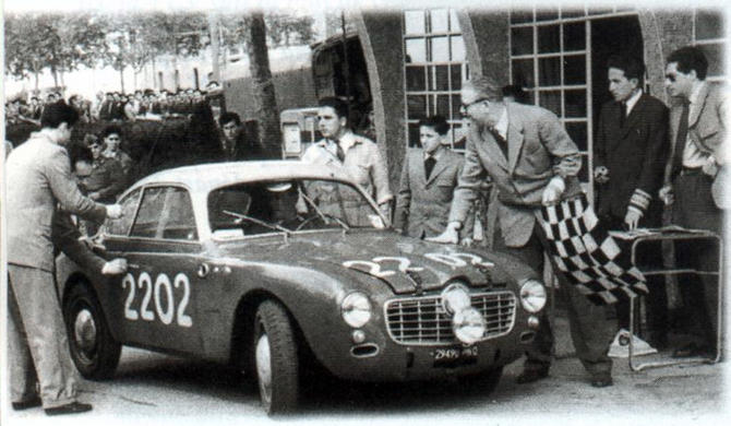 1952 Allemano Panhard Crepardi Dyna 750 Coupe a