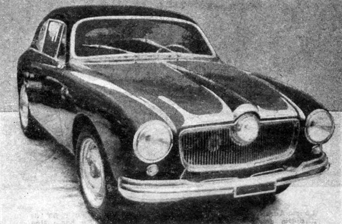 1952 Allemano Panhard Crepardi Dyna 750 Coupe b