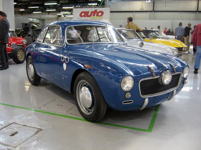 1952 Allemano Panhard Crepardi Dyna 750 Coupe c