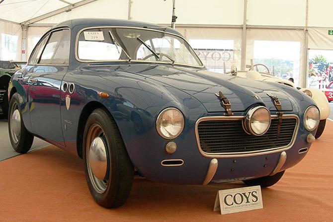 1952 Allemano Panhard Crepardi Dyna 750 Coupe e