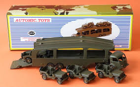 1952 Camion Panhard porte Jeep sur base Dinky Toys