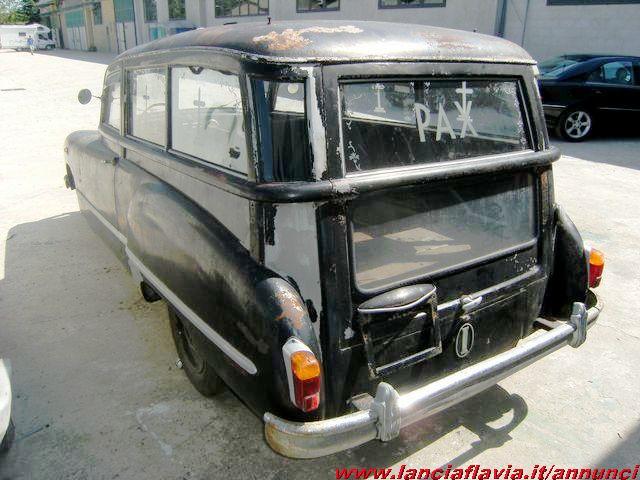 1952 FIAT 1100 EL 1952 CARROZZATO MONTEROSA RARISSIMO