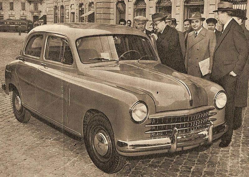 1952 Fiat 1400 - Fiat 1900