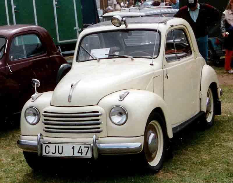 1952 FIAT 500C