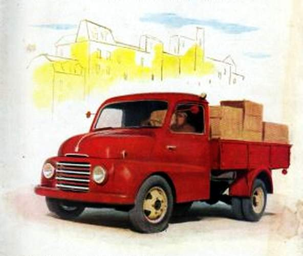 1952 Fiat 615 a50 camion 5