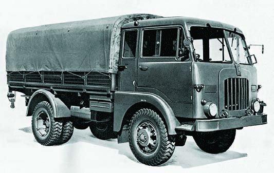 1952 FIAT-6601 (СM52), 4x4