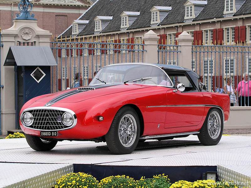 1952 Fiat 8V Demon Rouge - coupe body by Vignale